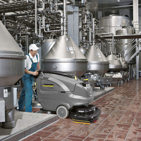 Scrubber Driers - Food & Drink Industry