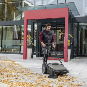Floor Sweepers - Cleaning Industry
